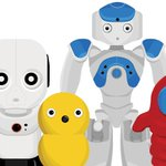 Image for the Tweet beginning: Robots are becoming classroom tutors.
