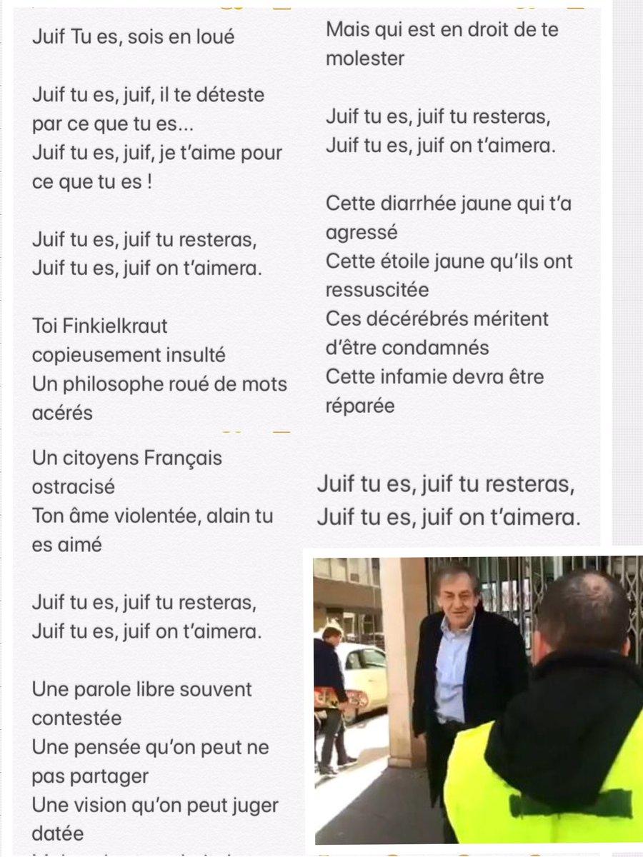 Frédéric Lefebvre On Twitter Juif Tu Es Sois En Loué
