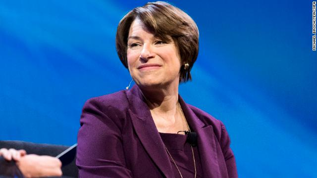Democratic senator and presidential candidate Amy Klobuchar says President Trump is going to take money 'from other security priorities' for the border wall  https://t.co/xlHyZ18ajn