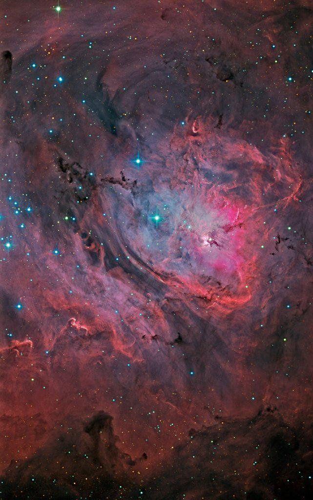 #Space: the Lagoon #Nebula, a tremendous star generating area https://t.co/99eUEGNCo3 via @DistantTraveler