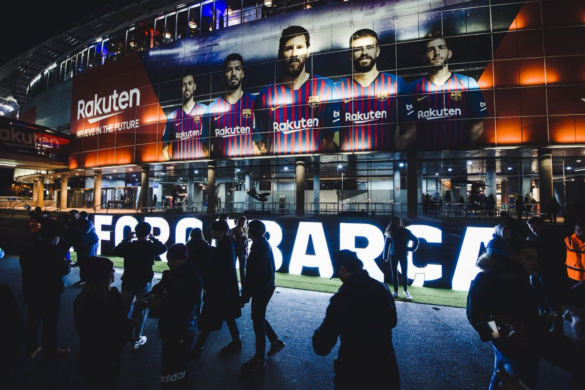 👥 Camp Nou'da 67.435 seyirci karşılaşmayı takip ediyor 👏 🔵🔴 #ForçaBarça ⚽ #BarçaValladolid