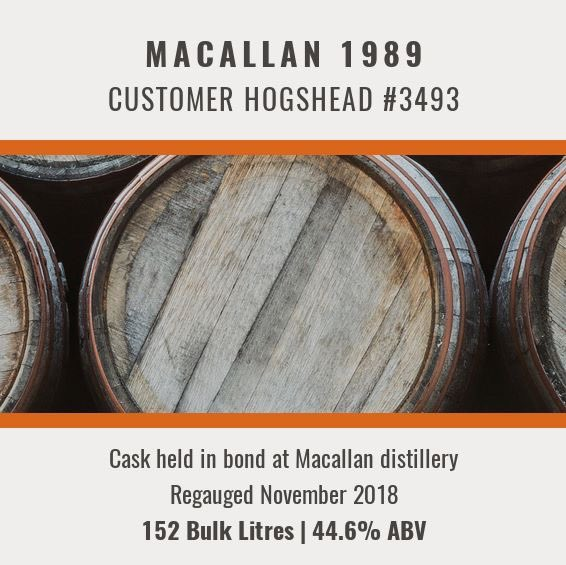 Considering an investment in whisky?  A very special opportunity to own your own cask of @The_Macallan distilled in 1989 is available in our February auction, live now at http://www.whiskyhammer.co.uk  #whisky #investment #whiskyauction