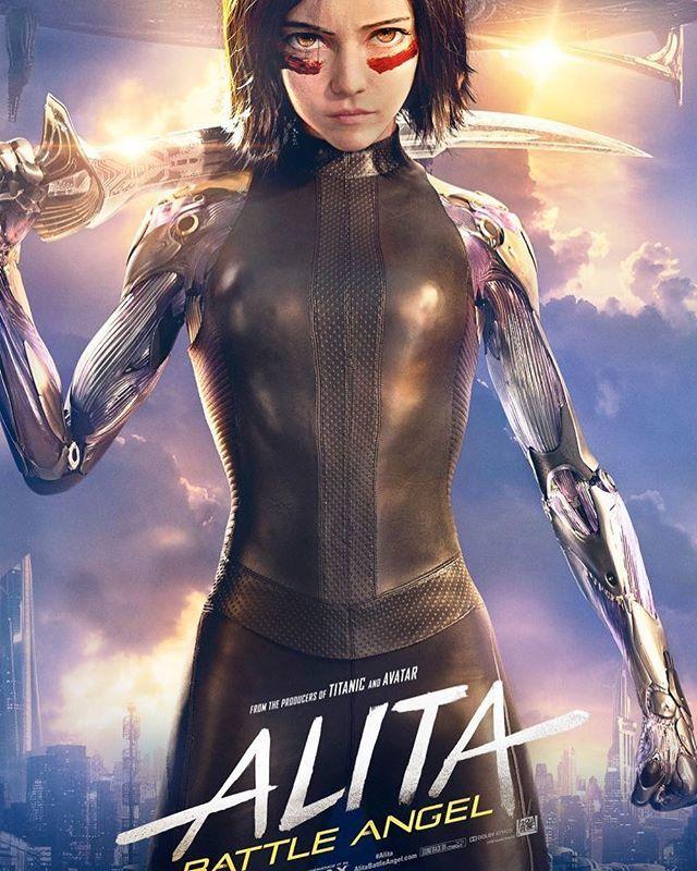 Good movie but predictable so far. Diggin it though. #alita #battleangel #hunterwarrior<br>http://pic.twitter.com/xnegiauQwS