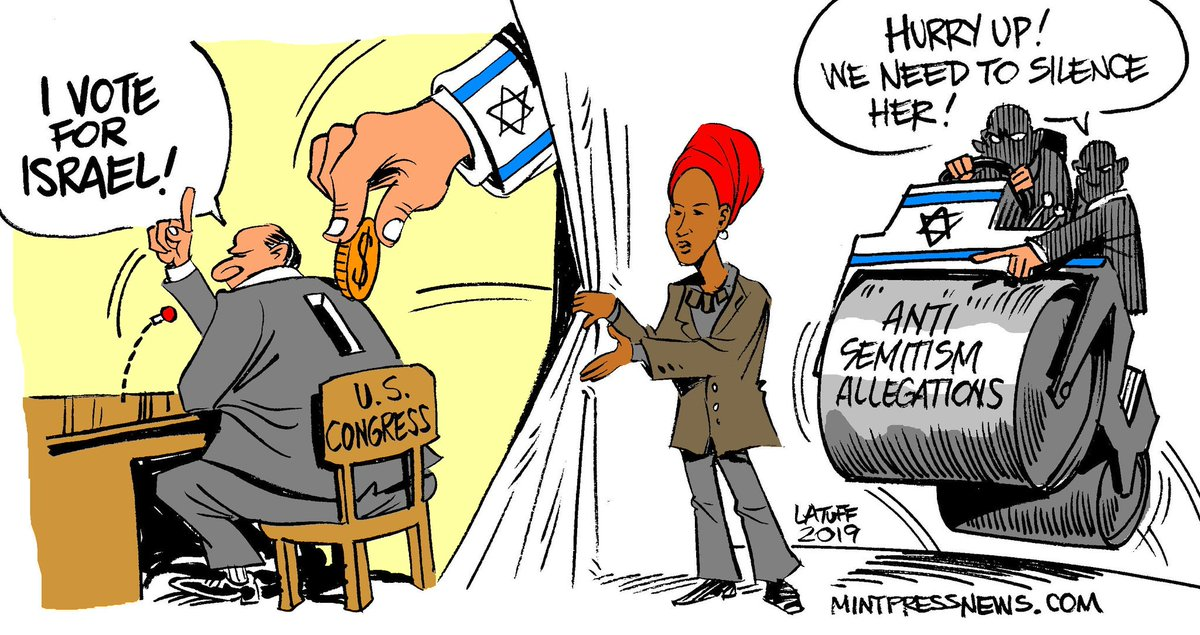 Carlos Latuff On Twitter Rep Ilhan Omar Broke An Old Taboo Speaking About The Israel Lobby Strong Influence Over The U S Politics Via Mintpressnews Https T Co Ahlygbfbgj