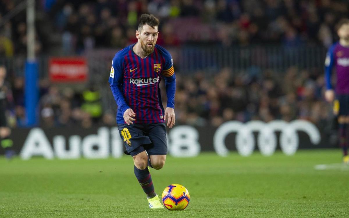 Leo #Messi 👑 üst üste 1⃣1⃣. sezonda da tüm kulvarlarda en az 30 gol atmayı başardı:  2008/09: 38 ⚽ 2009/10: 47 ⚽ 2010/11: 53 ⚽ 2011/12: 73 ⚽ 2012/13: 60 ⚽ 2013/14: 41 ⚽ 2014/15: 58 ⚽ 2015/16: 41 ⚽ 2016/17: 54 ⚽ 2017/18: 45 ⚽ 2018/19: 30 ⚽