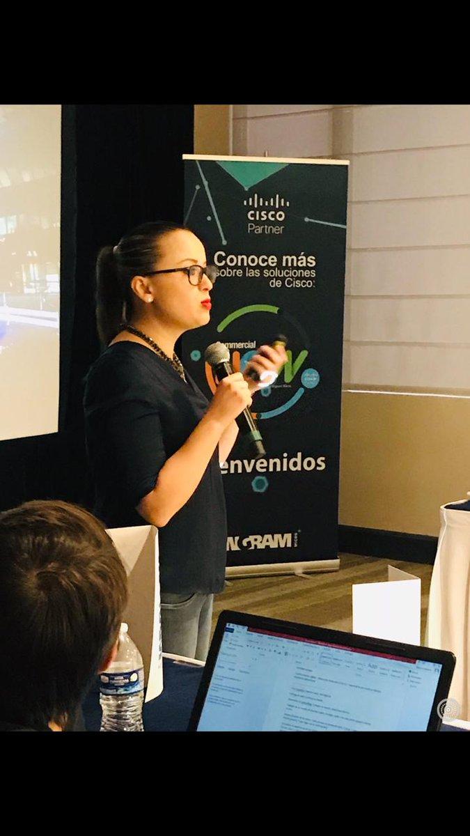 Commercial Now VIP en Mérida, mostrando lo nuevo en Soluciones #Cisco como: Enterprise, Seguridad, Meraki, Colaboración a través de mini Workshops #MejorCisco