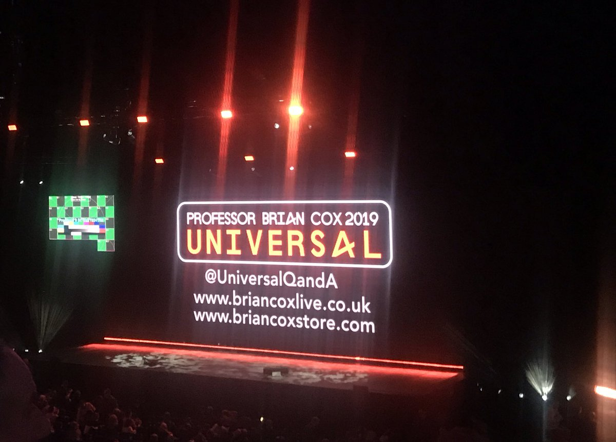 "test Twitter Media - ""9000 people have come out on a Saturday night to chat about #Cosmology - that makes me feel good about the world"" - @ProfBrianCox is pleased with the turnout for his Dublin show :) https://t.co/itxtlBKkqp"