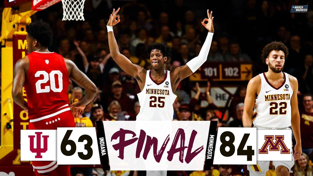 BEATDOWN in Minneapolis!  Minnesota shows no mercy for Indiana. 😳