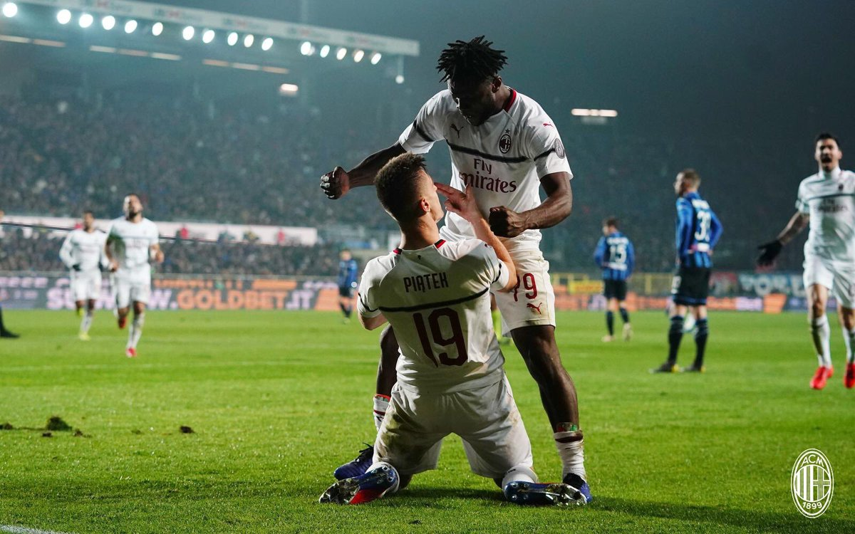 Depuis son arrivé à Milan, Piatek a frappé 18 fois... et a marqué 6 buts 😳🔥. (Via @Guillaumemp)