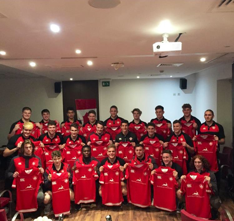 Canada U20 jersey presentation ahead of facing Portugal U20 tomorrow. Good luck, men! 🍁🏉 #<a target=