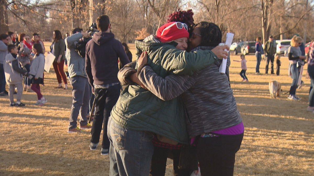 Denver Teachers And Students Rally To Celebrate End Of Strike https://t.co/TTTcmjx9aZ