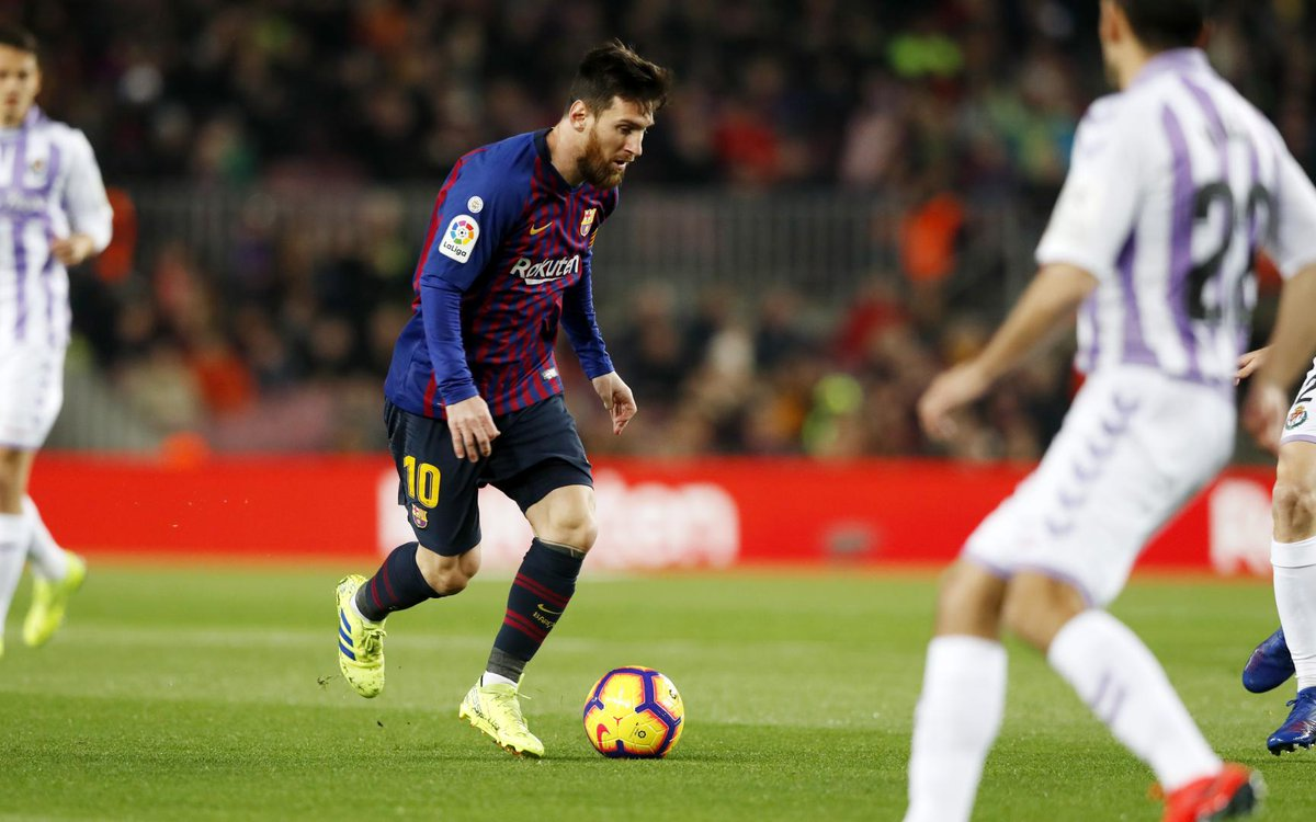 4️⃣ minutes of injury time! Can Barça tack on some insurance? 🔵🔴 #BarçaValladolid