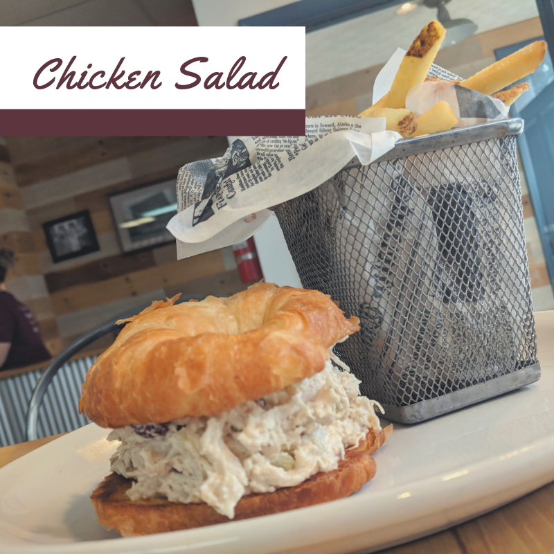 What came first, the chicken or the salad?  #centerstreetcafe #farmersvilleohio #daytonohio #daytonfood #breakfast #brunch #lunch #coffee #bostonstoker #bacon #welovebacon #baconflights #scratchkitchen #tripadvisor #daytondailynews #instagood #food #photooftheday