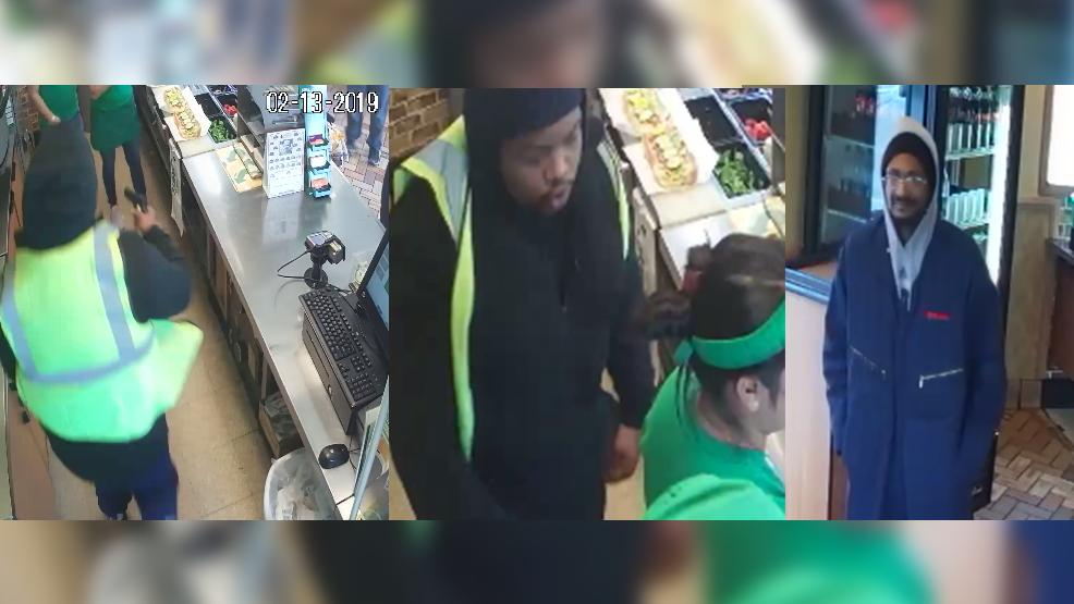 Do you recognize these men?   @ColumbusPolice are searching for them, they're accused of robbing the Subway restaurant on Karl Road:  https://t.co/mLKa76qi3S