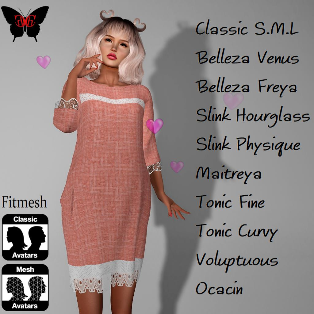 Club Dynasty Shop Chichi Sale  http:// maps.secondlife.com/secondlife/hak one/15/4/22 &nbsp; …  2019 living-coral  Spring Dress <br>http://pic.twitter.com/fCt6iaHJiX