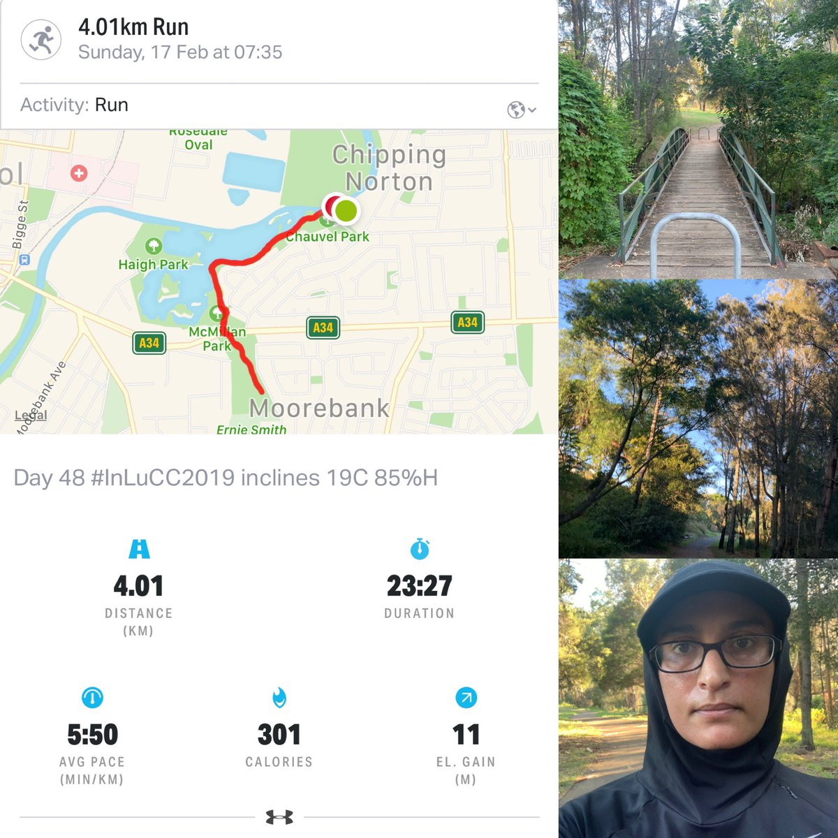 Day 48 #InLuCC2019 run for #LungCancerResearch at #InghamInstitute. Please click the link in my bio to the donation page. #LungCancer #LungCancerAwareness #FairGoForLungCancer #NotAllCancerIsPink #beatcancer #cancersucks #run365 #IAmAndIWill  <br>http://pic.twitter.com/62tSUMFMTV