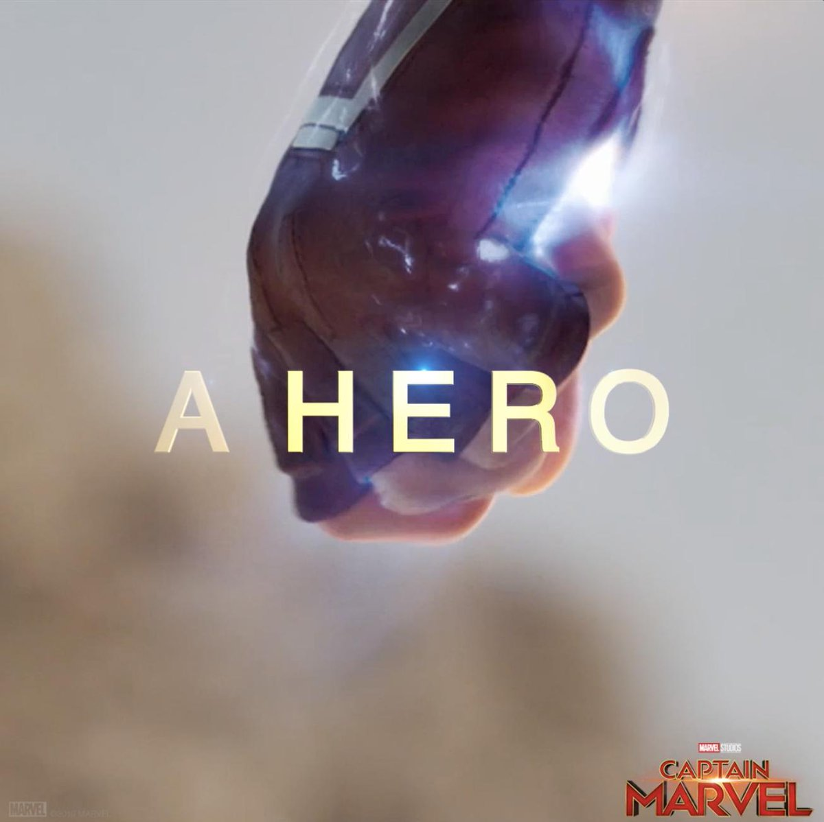 """""""I've never seen anything like her."""" See Marvel Studios' #CaptainMarvel in theaters March 8. Get tickets now: http://www.Fandango.com/CaptainMarvel"""