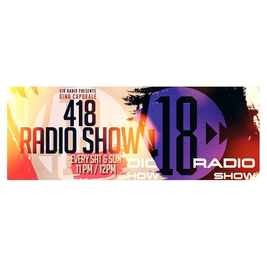 Join @djginocaporale now with #418RadioShow direct from #Philly.  Listen in to #housemusic in a global broadcast.  Now on #EJRRADIO #Amsterdam at http://www.ejrradio.com  RT