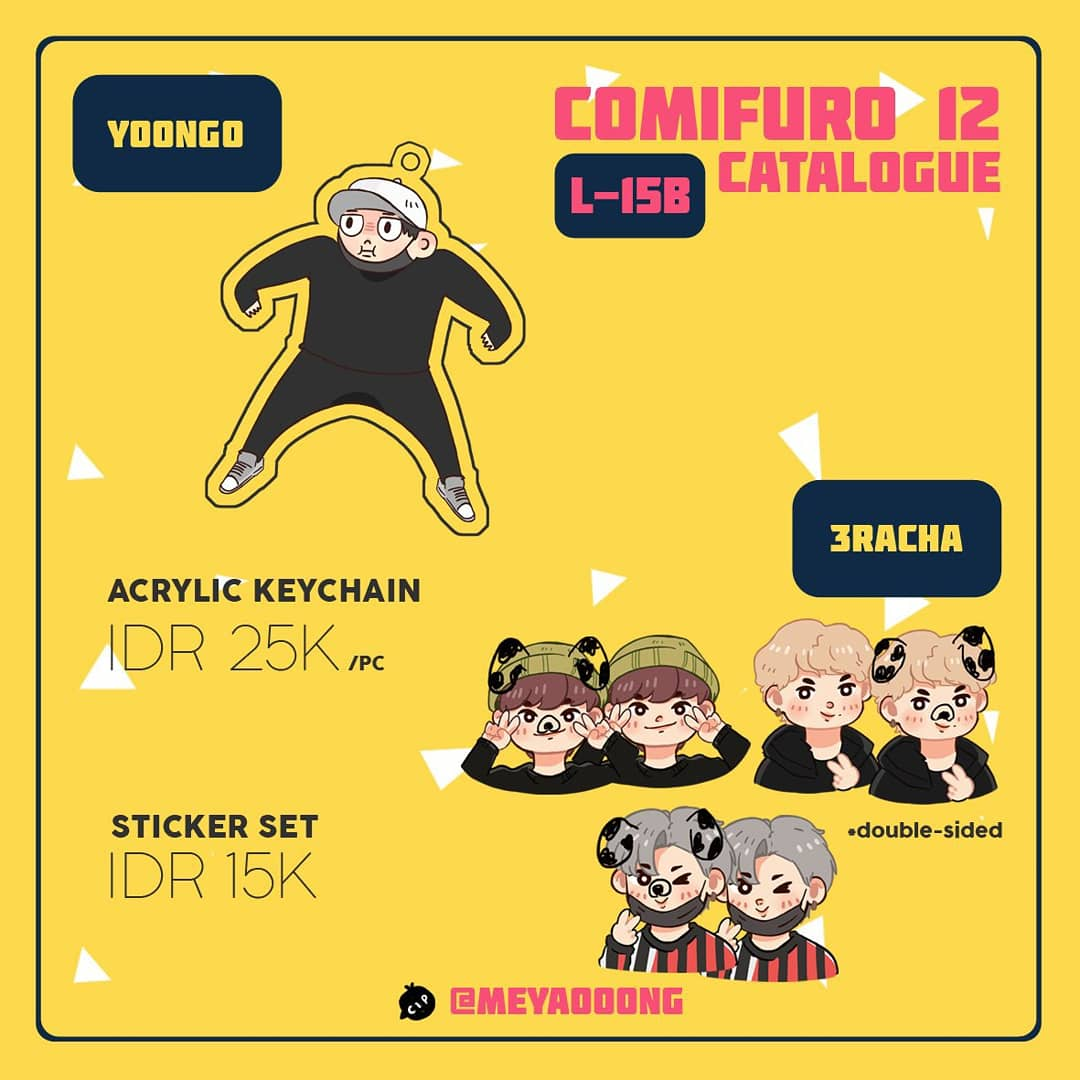 ✨🍋 RTs are aprreciated 🍋✨ Hi Hello! So here's my final catalogue for CF12 Please visit our booth L-15B i'll be there in both days! 🌼 Anyway you can DM me for booking the merchs~  See you soon ♡  #COMIFURO12 #CFXII #CF12 #COMIFUROXII #COMIFUROCATALOGUE #DAY6 #3Racha
