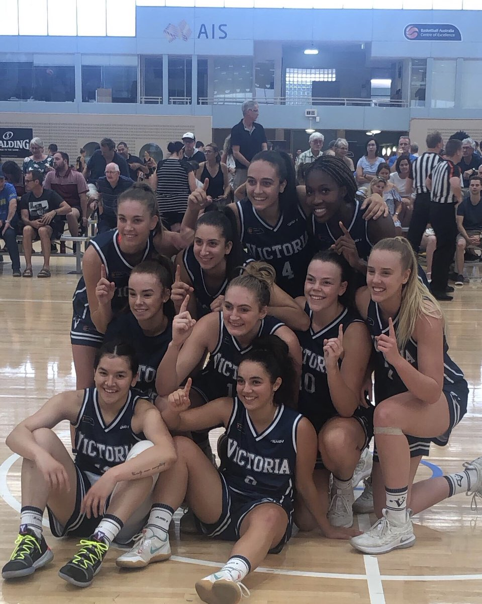 Congratulations @Basketball_Vic! They win a tenth straight Under-20 Women's Championship, defeating New South Wales 77-64!  #AusChamps