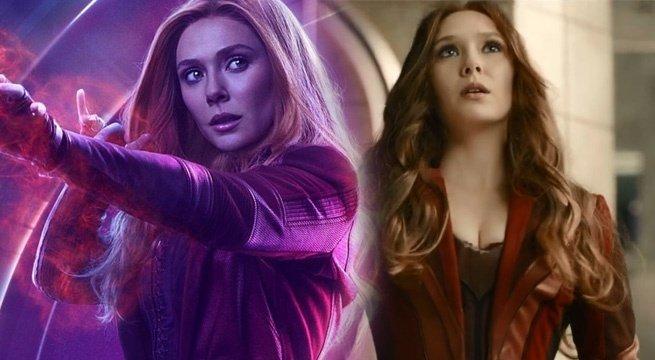 Marvel Wishes \Avengers: Infinity War\ Star ELIZABETH OLSEN a Happy Birthday