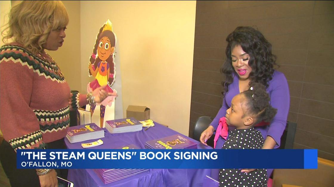 Local engineer publishes book to inspire young girls https://t.co/AQvT7PWzqg #KMOV
