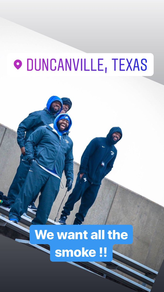 A FEW PROUD COACHES .  Watching  our Athletes that put the TEAM first by COMPETING today !! #TTP #JTD #TRACKMEETSMATTER #CANTJUSTPRACTICE #MUSTCOMPETE  🥶❄️☁️💨38 degrees    @JT_Boys_Track @JTHSFootball  📸 @Spencinoo