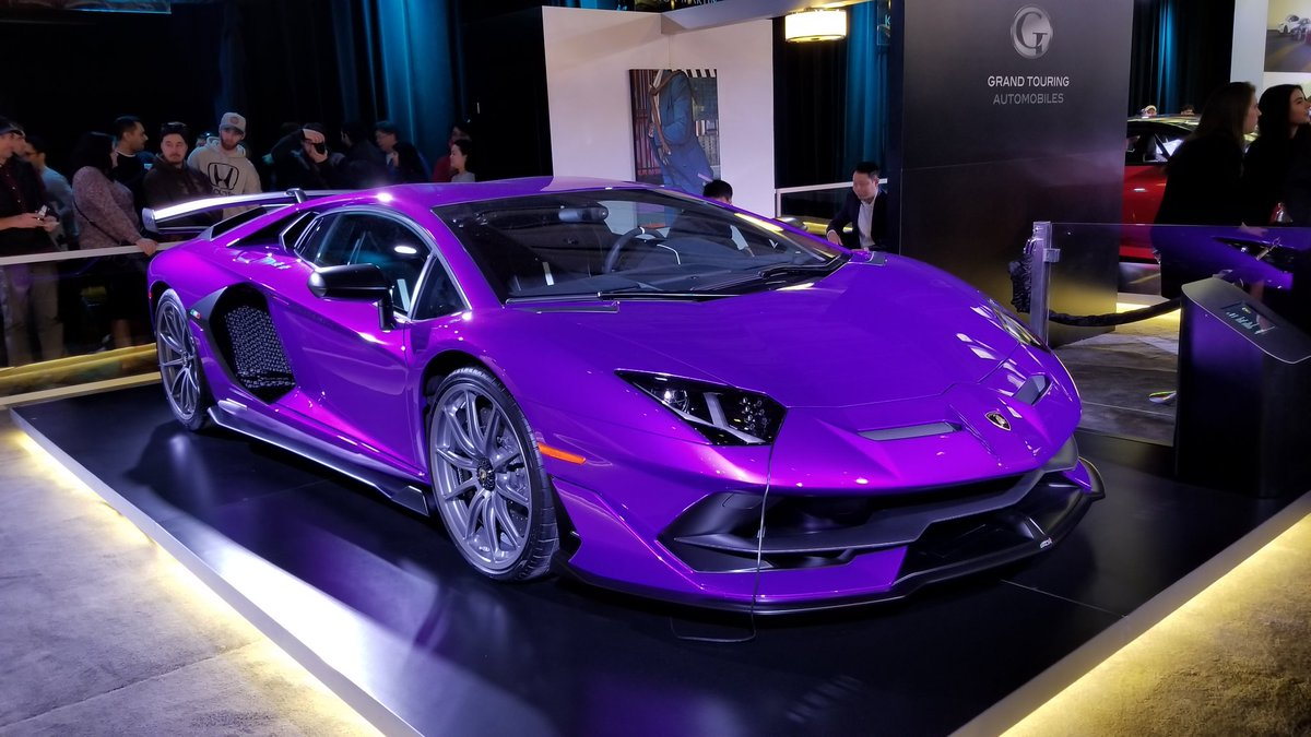Neokai On Twitter They Had A Purple Lamborghini Aventador Sjw