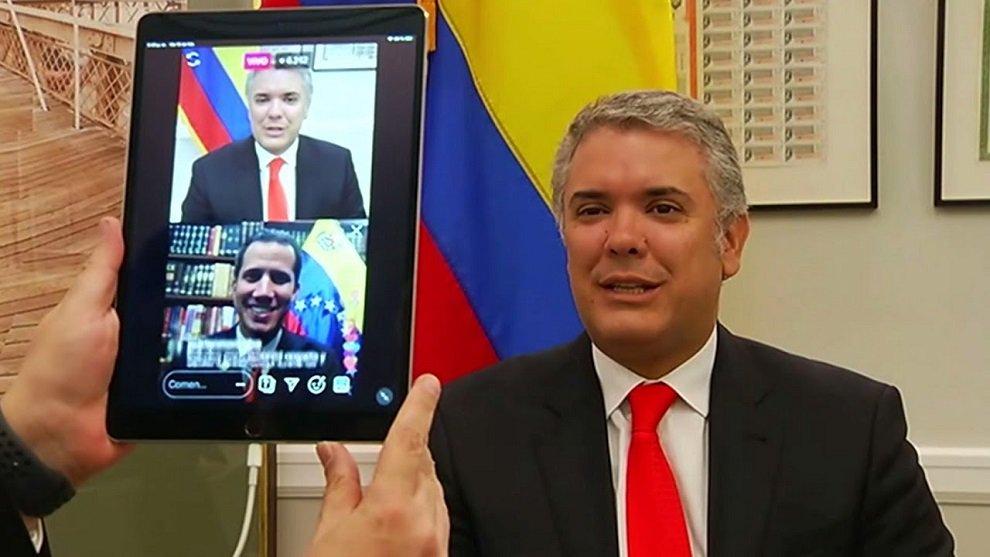 Duque y Guaidó creen que concierto en la frontera movilizará al mundo con apoyo humanitaria para Venezuela  https://t.co/OBxynyPPh8
