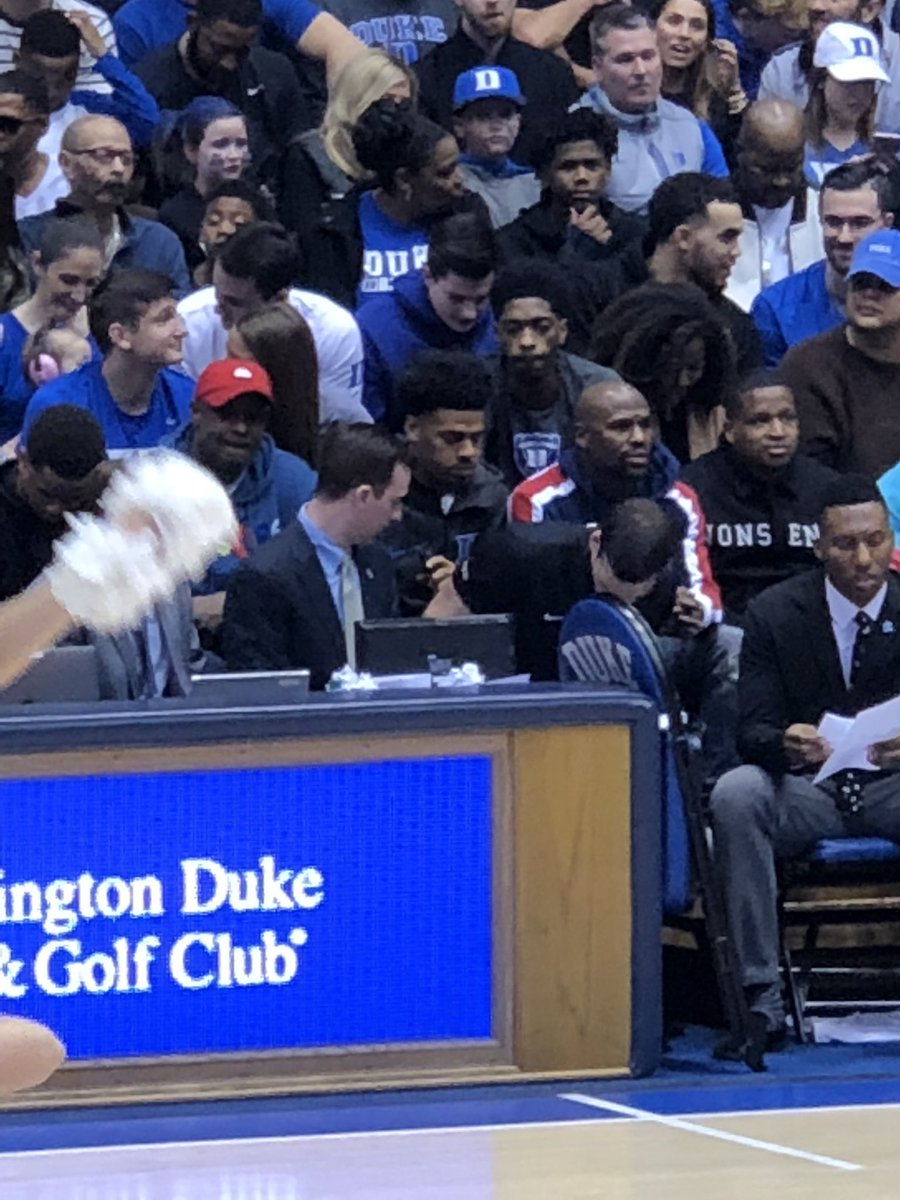 Photo: Look Who's At The Duke Game Tonight