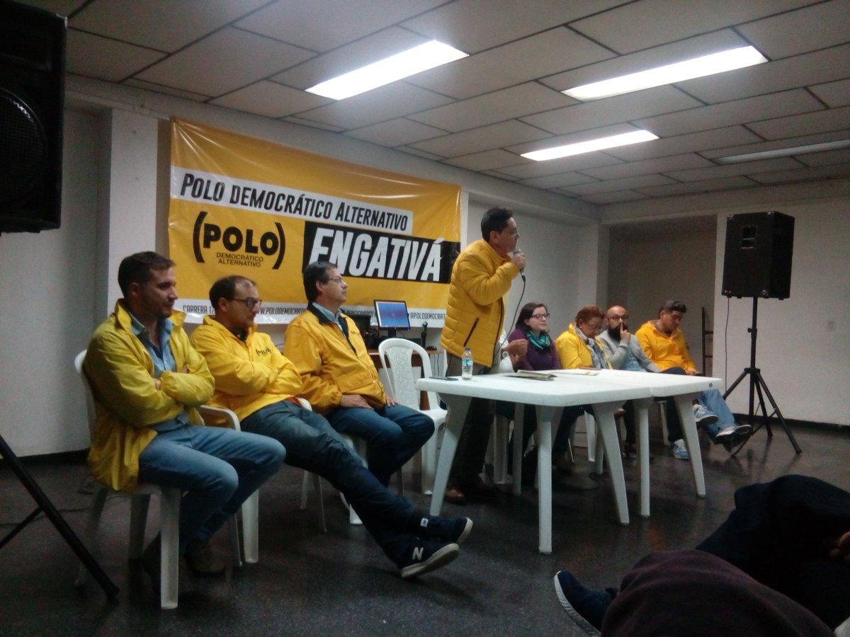 El Polo Democrático en Engativá cuenta con grandes dirigentes que tienen todo el compromiso de seguir defendiendo a Bogotá, acompañando y liderando las luchas sociales de la gente. #ElPoloConLaGente
