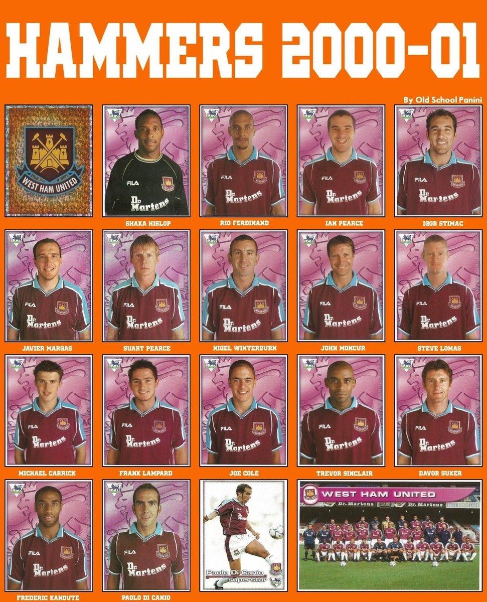 1. En la temporada 2000/2001 coincidieron en el West Ham Suker y Kanouté. También eran parte de aquella plantilla jugadores de la talla de Rio Ferdinand, Carrick, Lampard, Joe Cole...