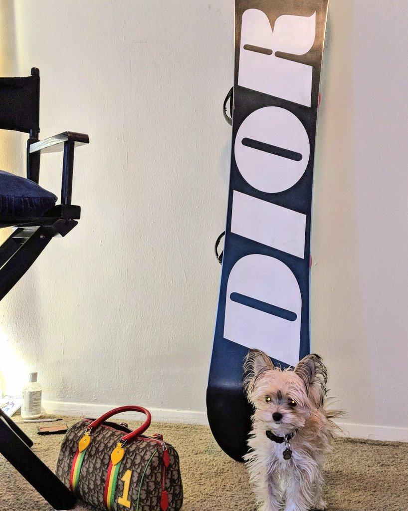 Who needs a snowboard #snow #Dior