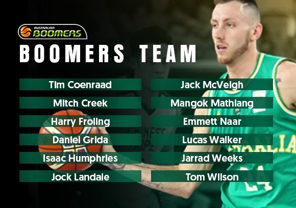UPDATE | There have been two changes made to the 🇦🇺 Boomers team for the @FIBAWC sixth window with @JackMcVeigh1 and@HarryFroling  coming in for Nathan Sobey and Daniel Johnson!  Updated release:https://t.co/b8FmN06rFR #GoBoomers #FIBAWC