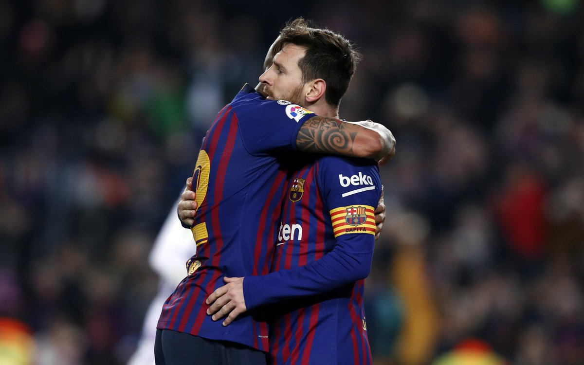 📹 O resumo do #BarçaValladolid (1-0)  👉https://t.co/tYqONvsbdv👈  🔵🔴 #ForçaBarça