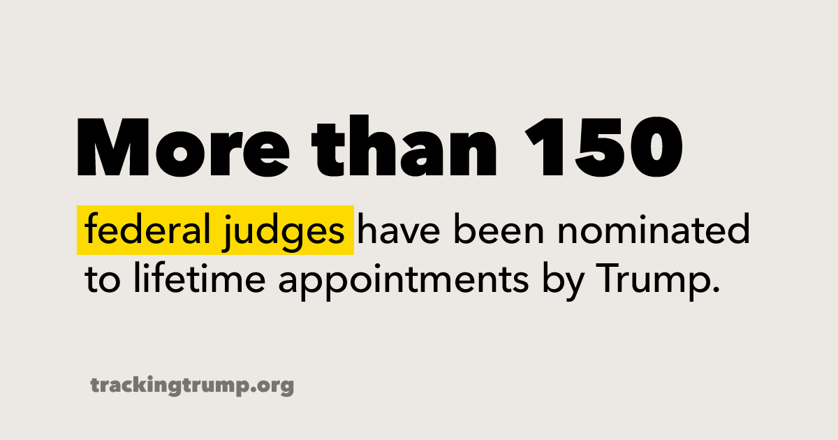 Trump is stacking the courts with conservative judges who are often hostile to our reproductive rights.   The rulings they make could impact our health and rights long after Trump is out of office.   What you need to know: https://t.co/IToOWL3Jxe #TrackingTrump  #ProtectOurCourts