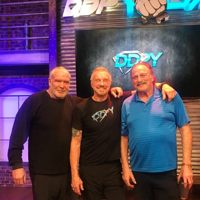 The Bad Guy, The King of Bada Bing & The Snake are #PositivelyUnstoppable brother! @JakeSnakeDDT @SCOTTHALLNWO  Letting you guys know that Jake and I will be at @Pensacon next weekend February 22-24th at the @CrownePlaza in Pensacola, Florida 💥 see you there! DDP💎  #bang