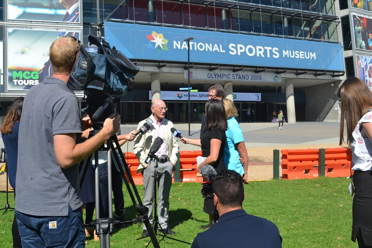 """""""Sport is something that lifts Australians. When people are down they can always turn to Australian sport to lift them up."""" - @KevinBartlett29"""