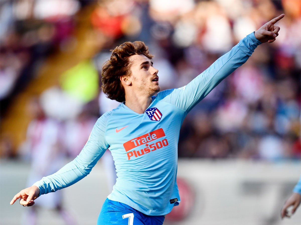 #Griezmann   @AntoGriezmann eclipses @Torres as Atletico Madrid overcome Rayo Vallecano ⚽️  REPORT 👉 http://toi.in/5-8f4b/a24gk