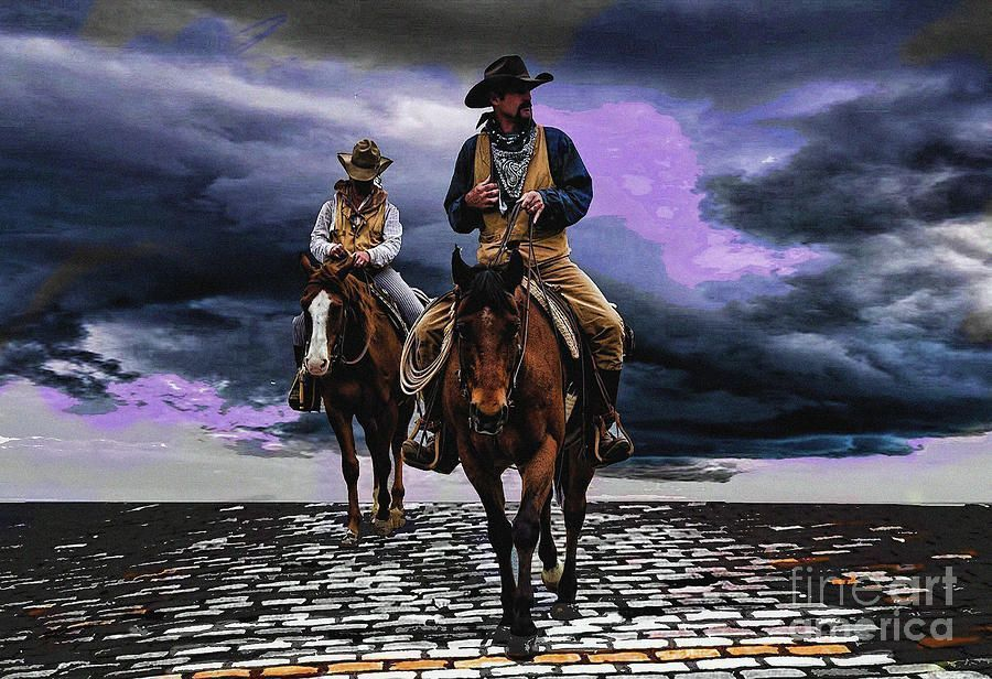 Headed Home #Cowboys #RidingHome #FortWorth #TX #DianaMarySharpton #ForSale @FineArtAmerica https://t.co/ecoxdxcxNo