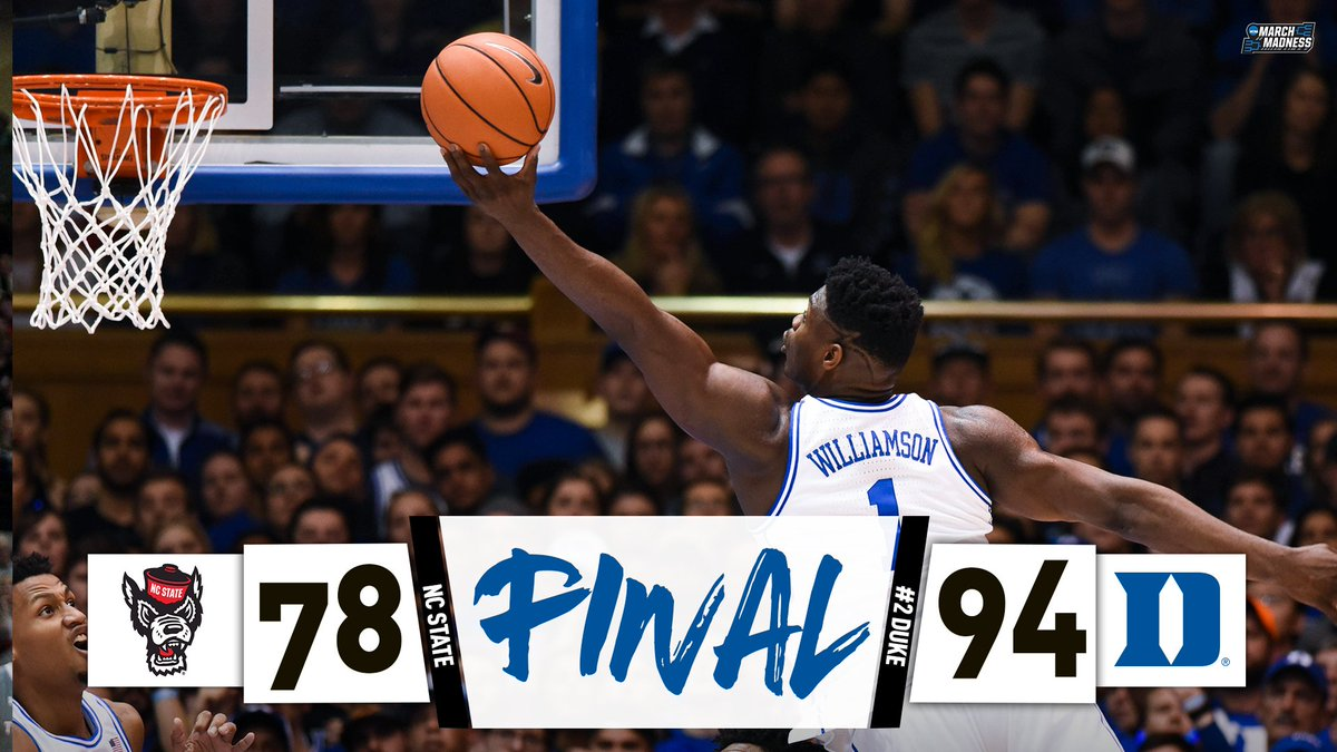 Duke keeps up the momentum!  After Tuesday's comeback at Louisville, No. 2 Duke returns home and takes down NC State!
