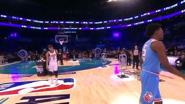 #NBARooks Trae Young and Luka Doncic advance to the #TacoBellSkills challenge Semifinals! #NBAAllStar  #StateFarmSaturday on @NBAonTNT