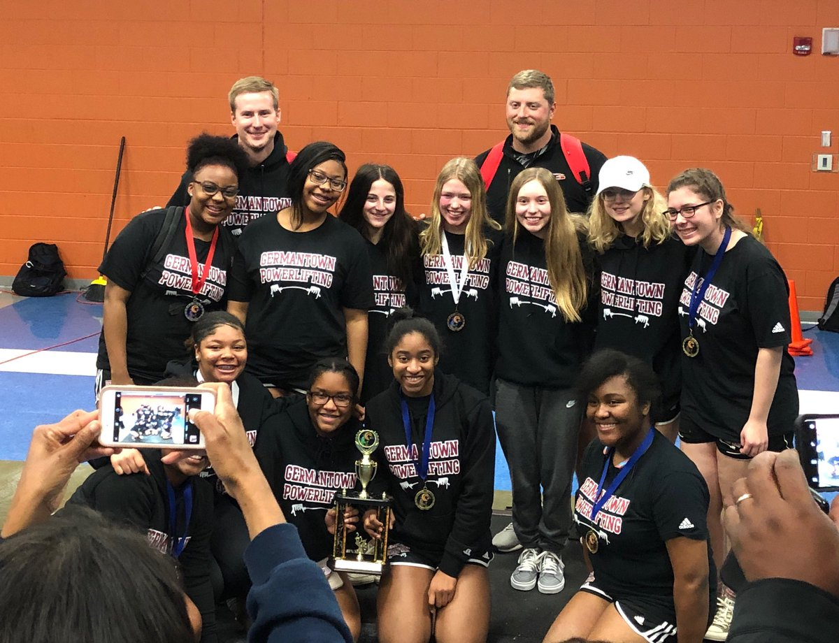 Maverick Girls Powerlifting finished a close runner-up at the Region Meet today! Great job ladies! #gomavs
