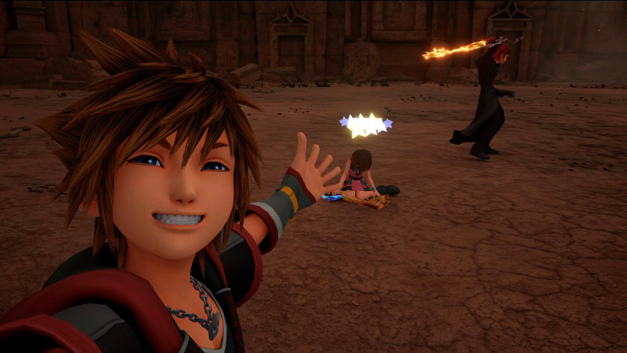 Nomura comments about Kingdom Hearts artwork and dev plans