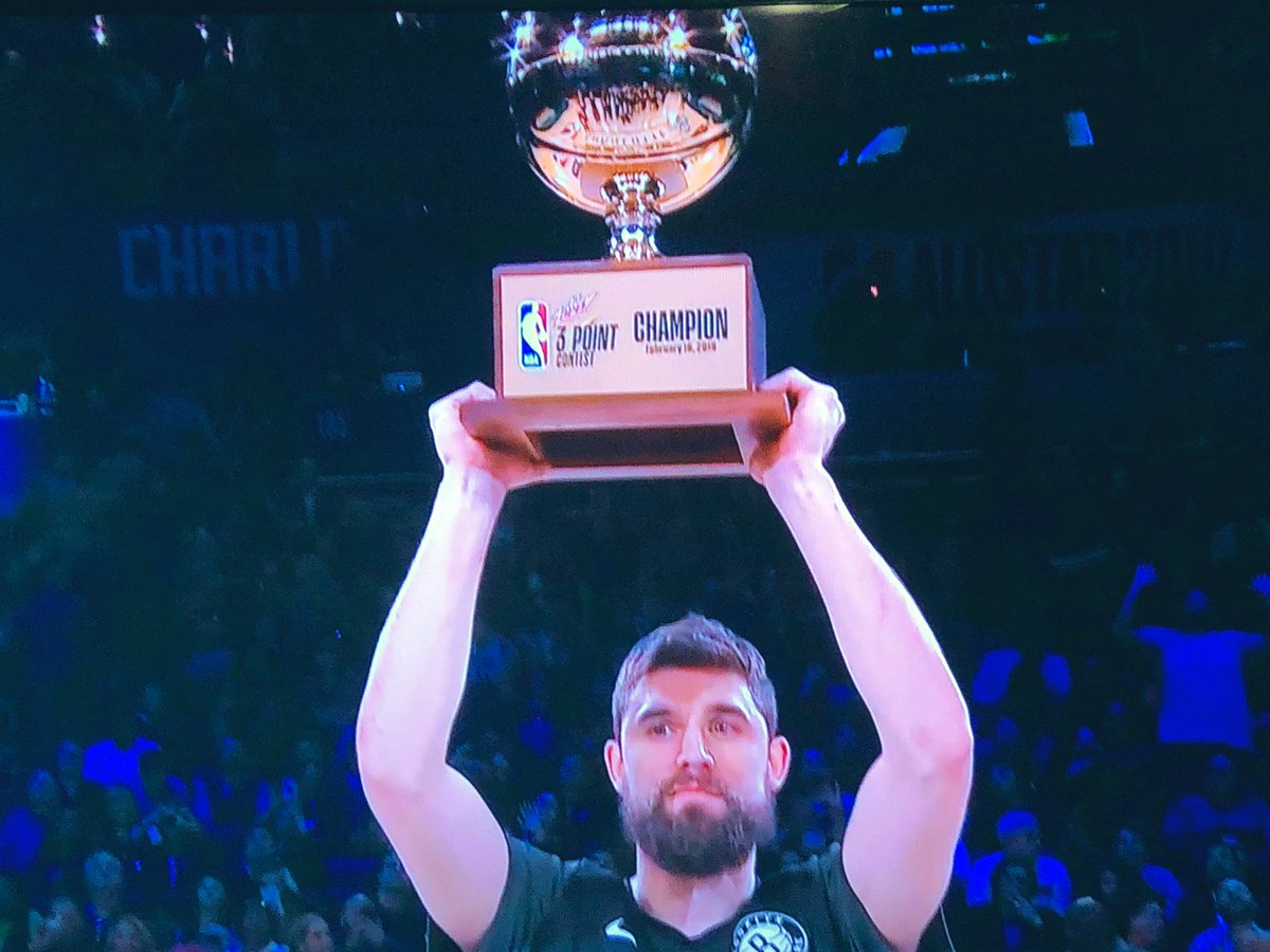 I will say it again: Watch the Nets consistently and you aren't surprised at all. Congrats Joe