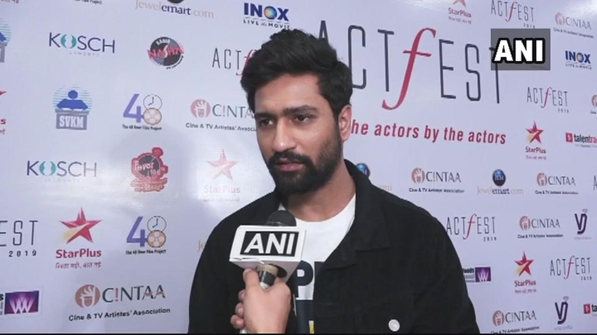 Actor Vicky Kaushal: It feels like a personal loss. A strong befitting answer must be given to terrorism. As a nation, we should come together & give the required support to the families of the martyrs, emotionally & financially. Our prayers are with them.   #PulwamaAttack