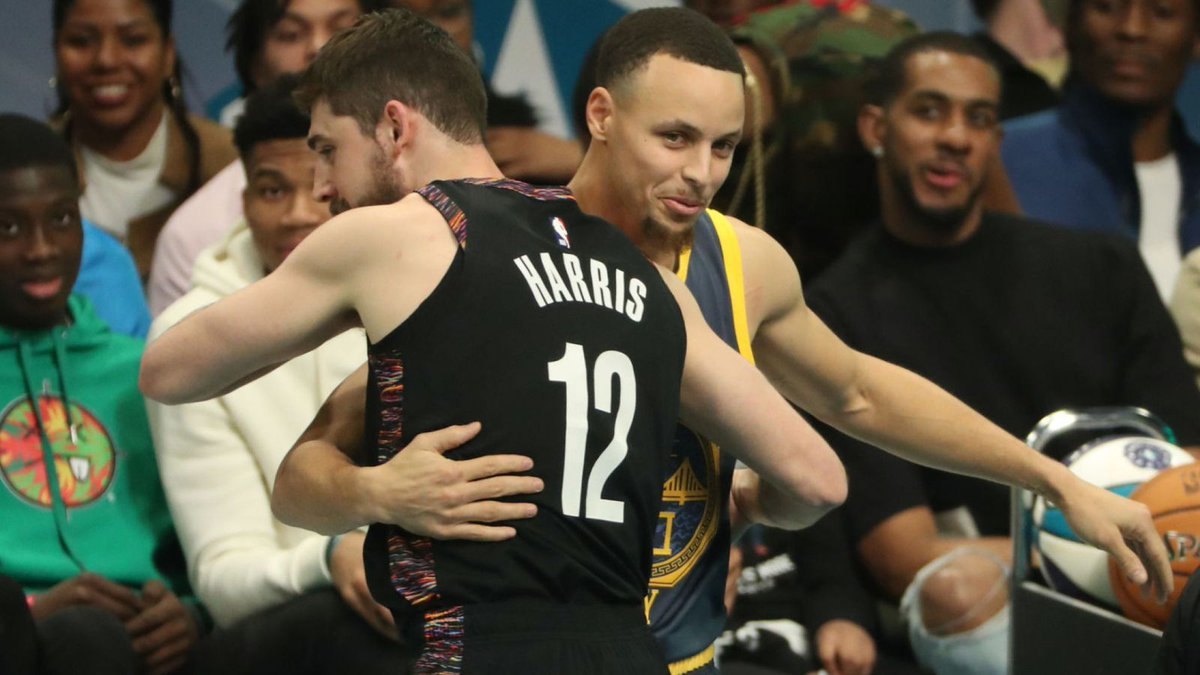 🏀🇺🇸#NBA #BrooklynNets guard #JoeHarris defeated #GoldenStateWarriors guard #StephenCurry in the Three-Point Contest on All-Star. #NBAAllStar #NBATwitter #nbanews #outdoorsportchannel #outdoorsportchanneltv #basketball