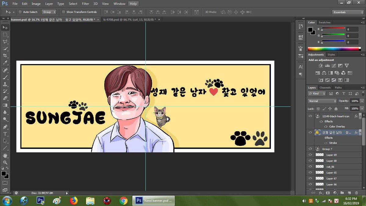 Cara Buat Hand Banner Kpop - contoh desain spanduk