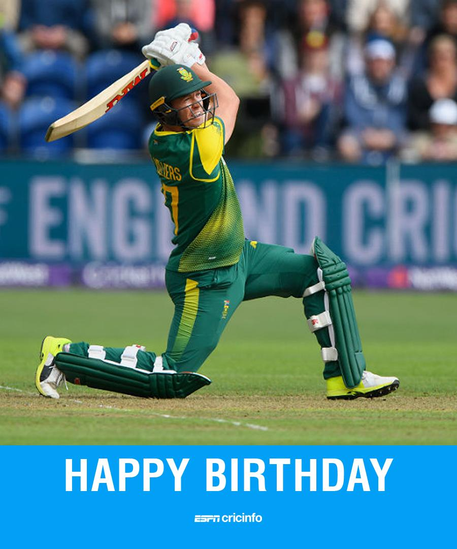 #OnThisDay in 1984, a star was born  Happy Birthday AB de Villiers!