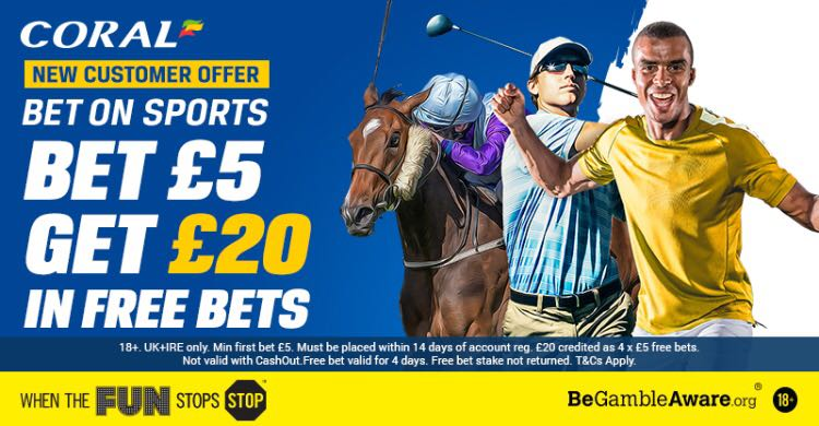Coral #Bet £5 Get £20 ▶️ http://bit.ly/coralbet5 #Freebets #tips #mancity #everton #barca #messi